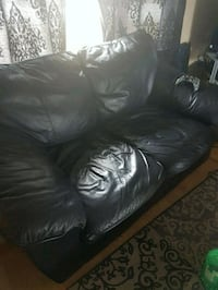 Faux leather couch & love seat Surrey, V3S 1E1