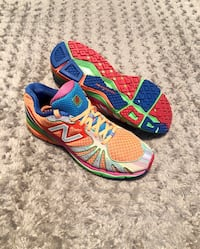 New Balance 890 paid $135 Size 9.5 Rainbow WR890RW. Men's 9.5 women's size 11 good condition Washington, 20002