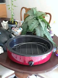 red and black cooking pot 2395 mi