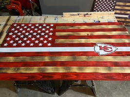 Torched Chiefs Flag