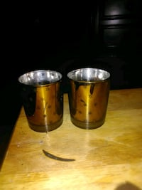 Two Candle Holder Cups