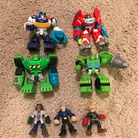 Imaginext Rescue Bots Broadlands, 20148