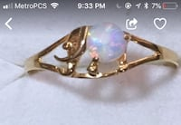 14k solid gold ring size 5 Anaheim, 92804