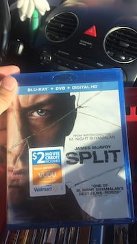 Split Blu-ray DVD movie