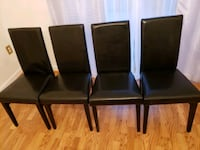 Shadow Table and 4 Chairs - Black   Silver Spring, 20904