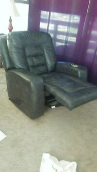 Real leather recliner Cleves, 45002