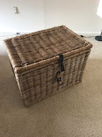 Wicker Rattan chest Ikea Byholma Bethesda, 20814