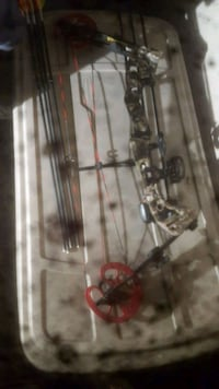 Brand new hunter compound bow