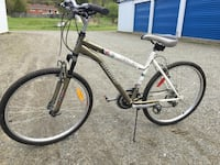 Gray and black hardtail mountain bike Waterville, J0B