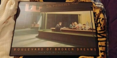 Framed Print - Boulevard of Broken Dreams