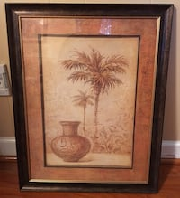 brown vase near tree painting with black frame Springfield, 22152
