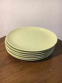 white and green ceramic plate Alexandria, 22303