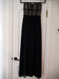 Floor length evening gown