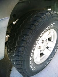 4-Toyota rims n tires / OBO  Colorado Springs, 80917