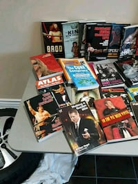 assorted movie DVD case lot Mississauga, L5C 1G9