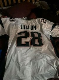 Authentic (Dillon) patriots jersey  Baltimore, 21216