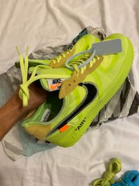 Air Force 1 Volts Off White 8.5 men