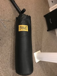 Everlast heavy bag and speed bag w/stand and bag gloves Bowie, 20721
