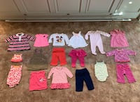 Baby Girl Clothing Bundle Size 9 Months Long Beach, 90815