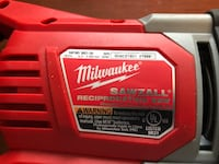 Red and black milwaukee m18 Sawzall Stony Brook, 11790