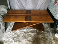 brown wooden 2 x 4 ft. Coffee table Council Bluffs, 51501