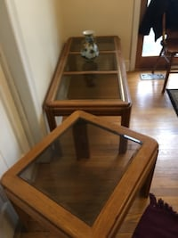 Coffee table with 2 end tables 65 km