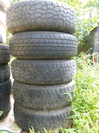 four black rubber car tires Harpers Ferry, 25425