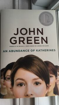 An Abundance of Katherines by John Green book