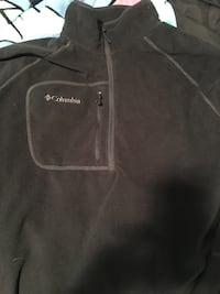 Black Columbia Pullover Jacket Pacific Grove, 93950