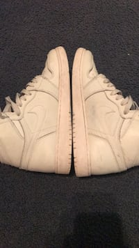 pair of white Nike Air Force 1 low Shirley, 11967