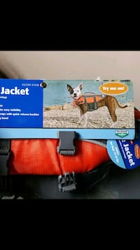New dog Life jacket Brampton, L6R