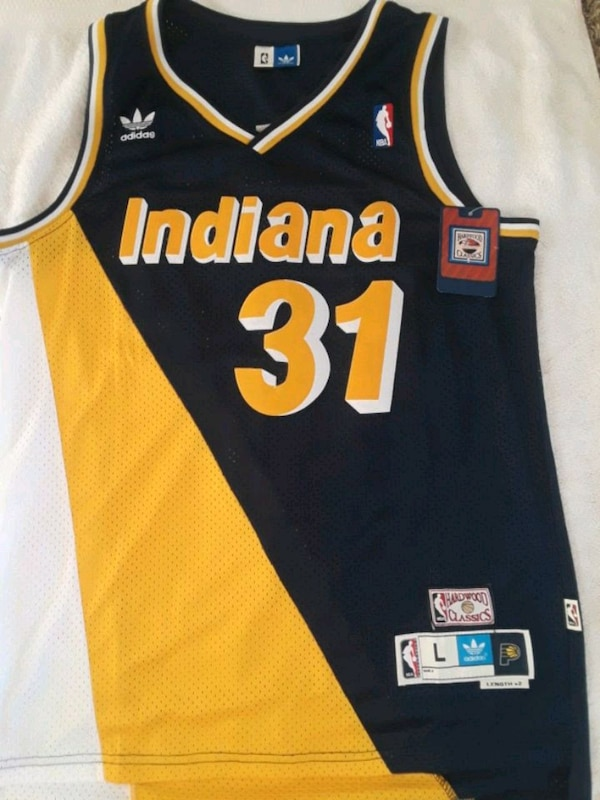 new product fee0d 3eb19 Indiana Pacers, Reggie Miller Jersey