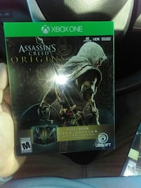 Xbox one assassin creed steel book edition