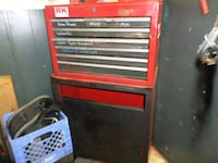 red and black Craftsman tool cabinet Jackson, 49201
