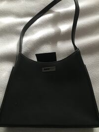Small black guess purse