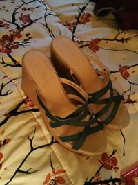 pair of brown leather sandals Panama City, 32404