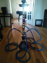 Beautiful blue hookah with all four tubes  Pueblo, 81004