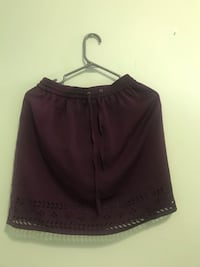 Burgundy skirt - (Small to Medium) Toronto, M2N 7H2