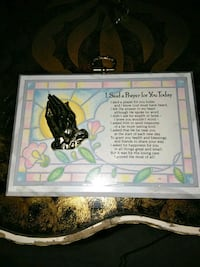 I have a very nice picture of a prayer home decor  Albuquerque, 87108