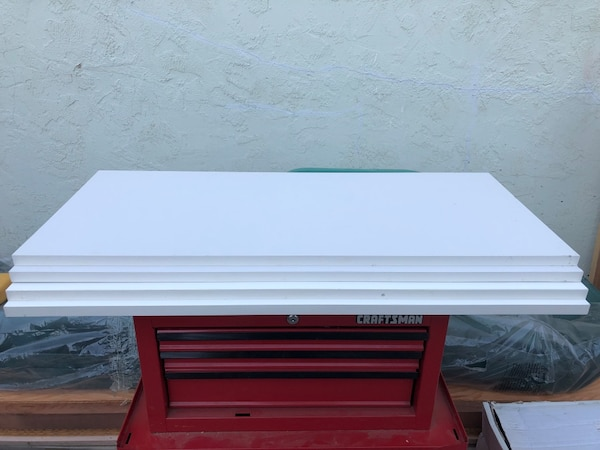 Used Brand New 4 White Laminate Shelves Size 3 X 15 75 36 Only 10 For All In San Jose