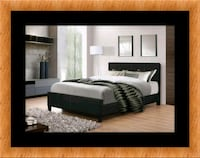 Full platform bed free box spring and delivery Falls Church, 22041
