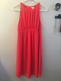 women's red sleeveless dress Centennial, 80122