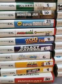 Nintendo DS games for sale individually  Vaughan, L4L