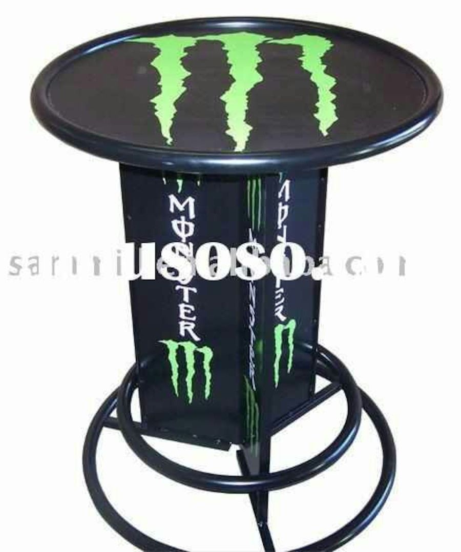 Used Monster Energy Pub Table In Waterbury