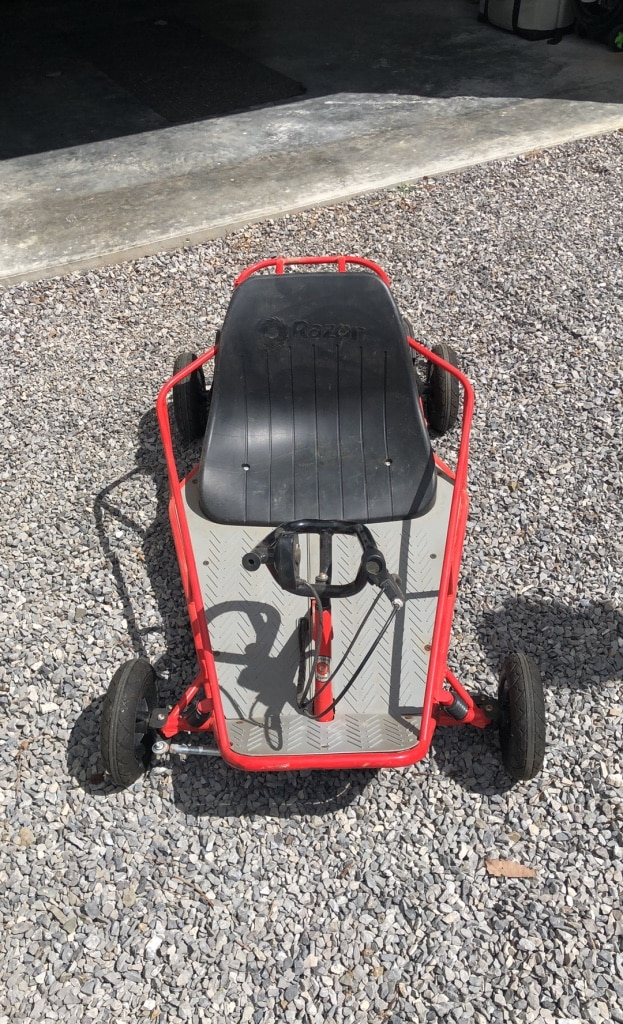 Photo Razor electric go-cart 24V. Great condition, runs great!!