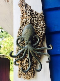 DriftWood & wrought iron octopus Southport, 28461
