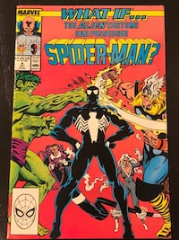Marvel Comic - What if... Vol.2 No.4, Oct 1989. Mint condition