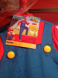 BRAND NEW 4O-42 MARIO COSTUME WITH TAGS