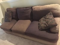 Huge sectional sofa and chair Chantilly, 20166