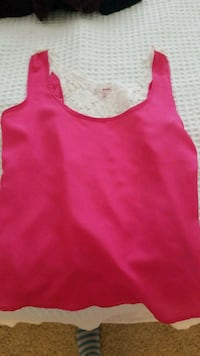Pink with lace tank Fairfax, 22030
